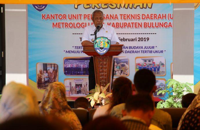 UPTD Metrologi Legal Bulungan Difungsikan