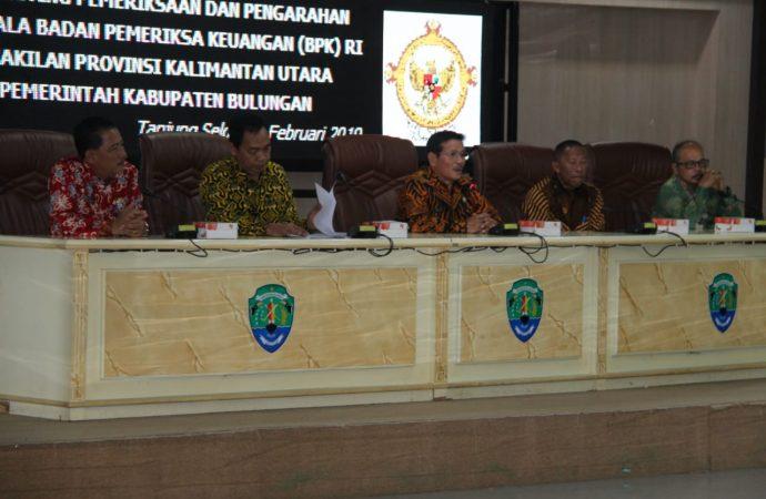 BPK RI dan Pemkab Bulungan Laksanakan Entry Meeting Pemeriksaan Keuangan 2018