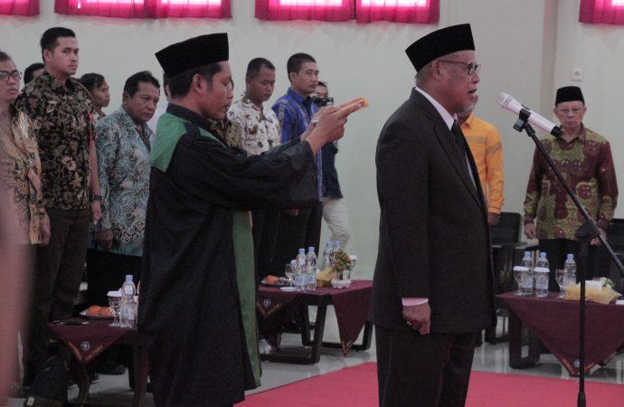 Abdul Jabarsyah Kembali Pimpin Unikaltar