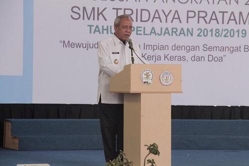 Sebanyak 61 Taruna SMK Tridaya Diwisuda