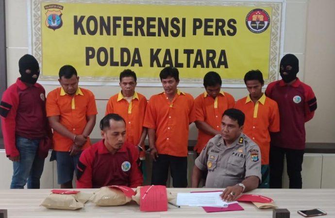 Sabu 3 Kg Berikut Kurir Diamankan di Dusun Buluh Perindu