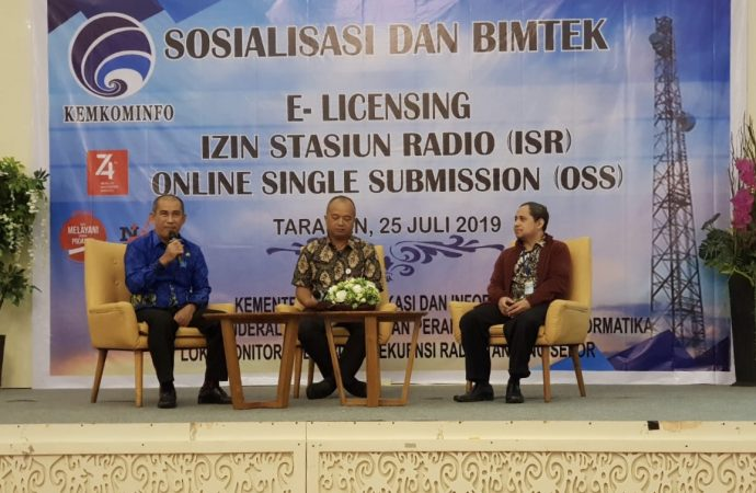 Lokmon Spek Rad Tanjung Selor Gelar Sosialiasi dan Bimbingan E-Licensing