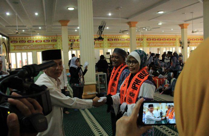 JCH Bulungan Diberangkatkan Melalui Bandara Kalimarau