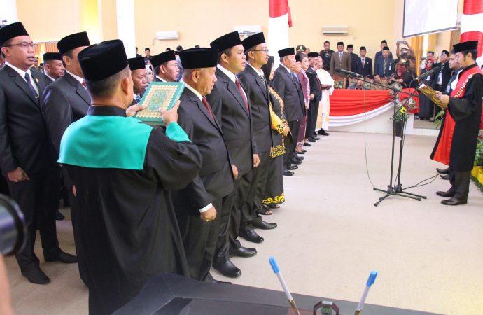 Anggota DPRD Bulungan Periode 2019-2024 Dilantik