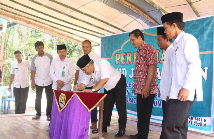Bupati Resmikan Masjid di Desa Long Sam