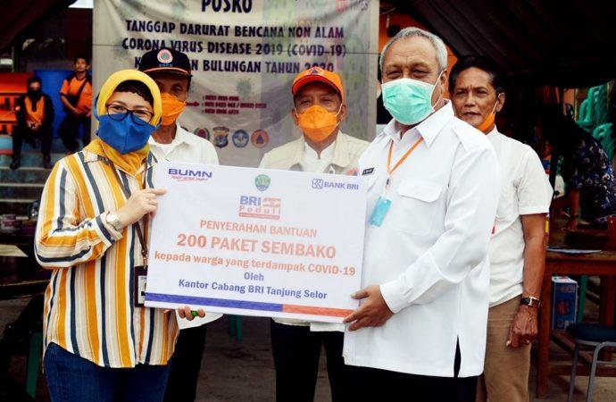 Pemkab Terima Bantuan BRI Cabang Tanjung Selor