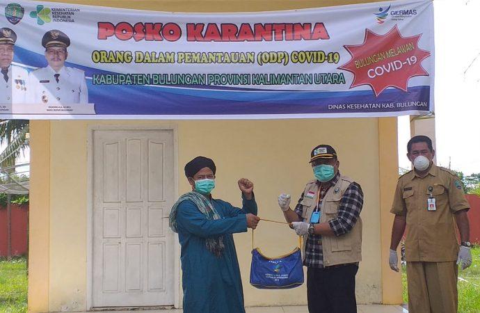 30 OTG ODP Corona di Bulungan Dapat Bantuan Sosial