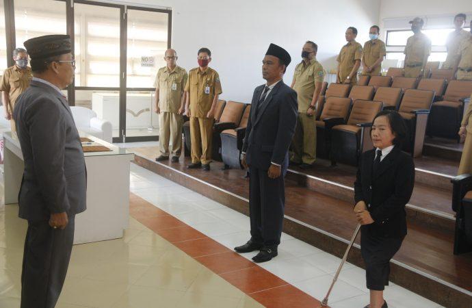 Dua Pejabat Fungsional Perpustakawan Dilantik