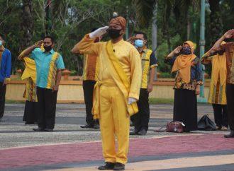 Pemkab Gelar Upacara Sambut Hari Jadi Bulungan dan Tanjung Selor