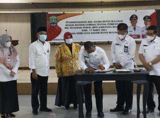 Bulungan Laksanakan Penandatanganan MoU Pembentukan MPP