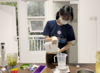 Mahasiswi UGM Berikan Pelatihan Pembuatan Sabun Organik dari Alpukat
