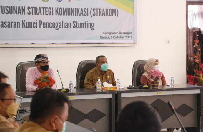 Dinkes Gelar Workshop Penyusunan Strakom Pencegahan Stunting